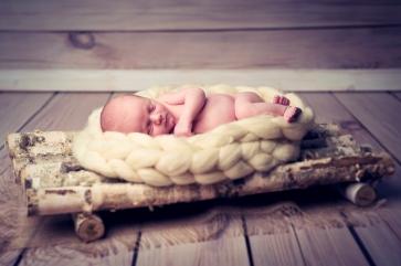 Aleks - sesja noworodkowa